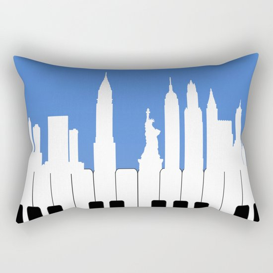 New York, New York Rectangular Pillow