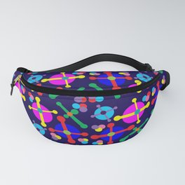 Outer Space Jacks Navy Fanny Pack