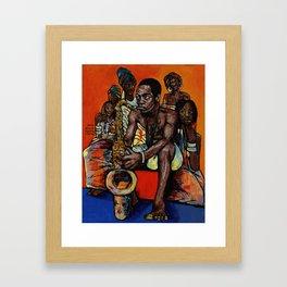2018 Ransome Fela Kuti art by Marcellous Lovelace Framed Art Print