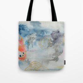 Birthday Fish Tote Bag