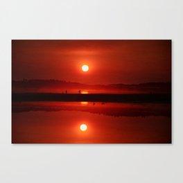West Coast Sunset Canvas Print