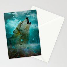 I'll See You In My Dreams (Cry of the Wolf) Stationery Cards