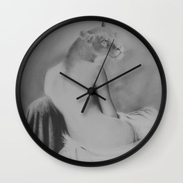 She had pride Wall Clock