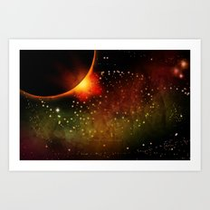 SPACE 121413 – 067 Art Print