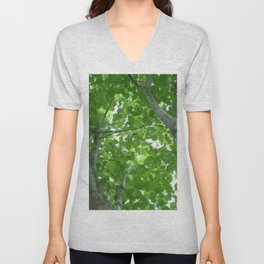 Looking through the Treetops Unisex V-Neck