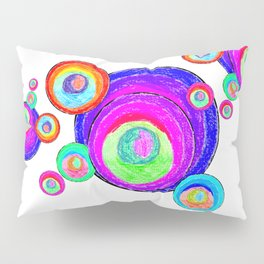 Colorful Secret Geometry | painting by Elisavet #society6 Pillow Sham