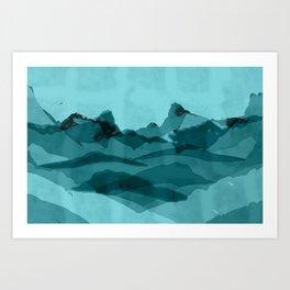 Mountain X 0.1 Art Print