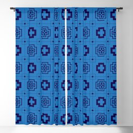 The Directions (Blue) Blackout Curtain