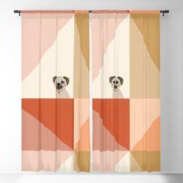 Little_PUG_LOVE_Minimalism_001 Blackout Curtain
