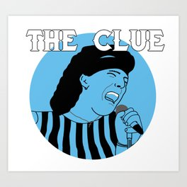 The Clue Art Print