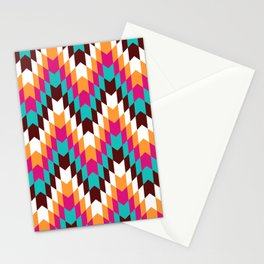 Tribal Chevron II Stationery Cards