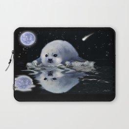 Destiny - Harp Seal Pup & Ice Floe Laptop Sleeve