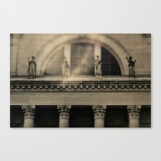 Dedicated to Art Canvas Print