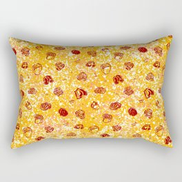 Butts in Undies (Pepperoni with Cheese color way) Rectangular Pillow