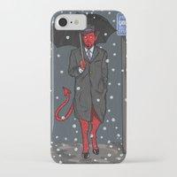 satan iPhone & iPod Cases featuring Hail, Satan by Christian Panic