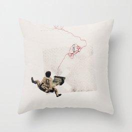 coded speech Throw Pillow