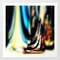 Reflective Refraction Art Print
