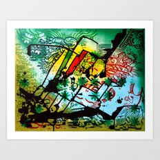 Transformation No.1 Art Print