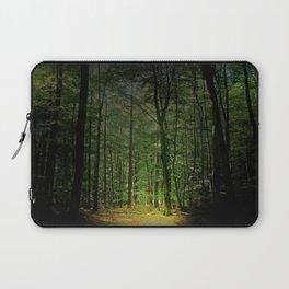 Blätter Wald Laptop Sleeve
