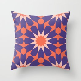 Cosy Moroccan Throw Pillow