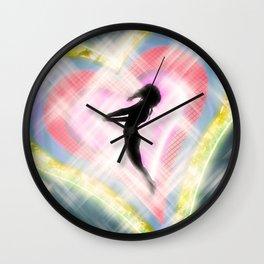 The Lover from Akihabara Wall Clock