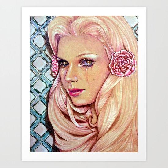 Silent Fall Art Print