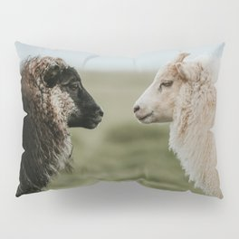 Sheeply in Love - Animal Photography from Iceland Pillow Sham