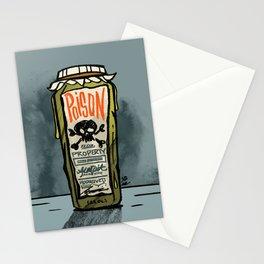 Poison Jar Stationery Cards