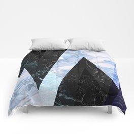 Marble stone ( frozen ) Comforters