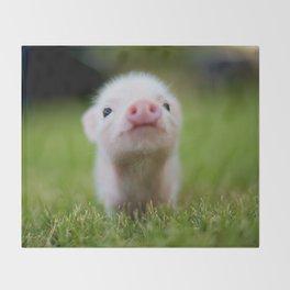 Little Pig Throw Blanket