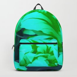seafoam green tulips Backpack