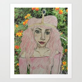 Princess Bubblegum XXI Art Print