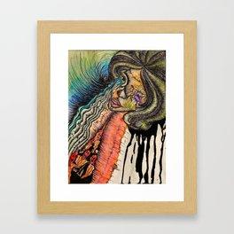 MUSIC LIFELINE Framed Art Print