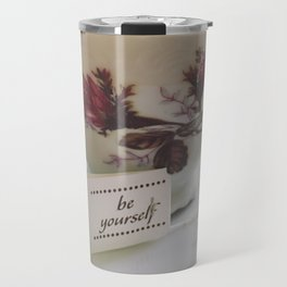 floraly be yourself Travel Mug