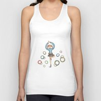 dancer Tank Tops featuring Dancer by Catru