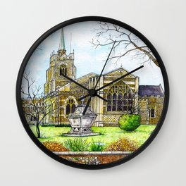 Chelmsford Cathedral, UK Wall Clock