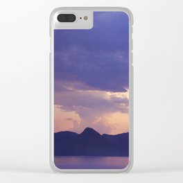 Lake 3 Clear iPhone Case