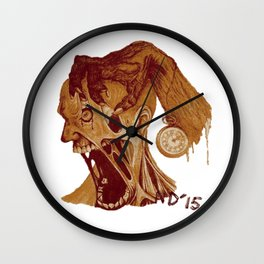It's Time Again Wall Clock