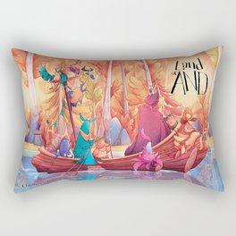 Land of AND Rectangular Pillow