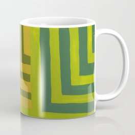 Painted Color Block Squares Coffee Mug