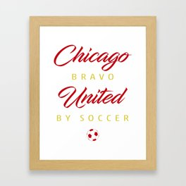 Chicago Bravo Framed Art Print
