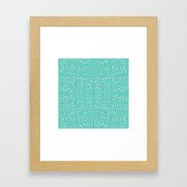 symmetry 5 Framed Art Print