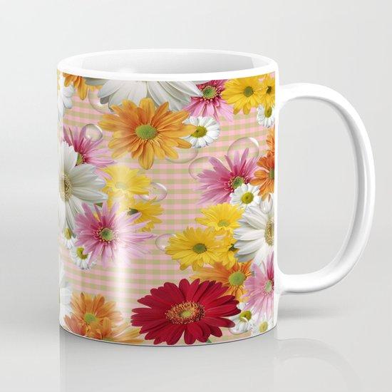 Retro Country Flowers Coffee Mug