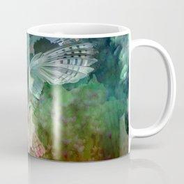 """Owl flight and spring night"" Coffee Mug"