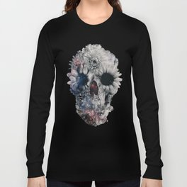 Floral Skull 2 Long Sleeve T-shirt