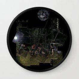 Ashen Moon Wall Clock