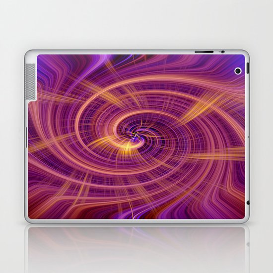 Spiral Wirlpool Laptop & iPad Skin