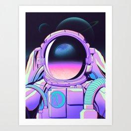 Space Travel 20XX Art Print