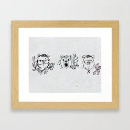 The Bjorns Framed Art Print