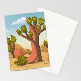 J is for Joshua Tree Stationery Cards